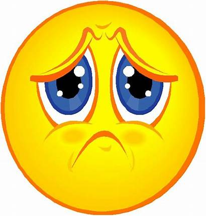 Sad Face Smiley Clipart Emotions Miss Funny