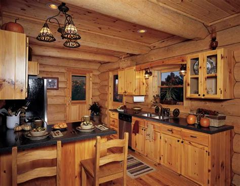 Rustic Log Cabin Kitchen Ideas by Log Cabin Kitchen Designs Kitchen Design Photos