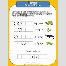 Reptiles  Arabic Vocab  Animals Themed Worksheets  Pinterest  Worksheets, Learning Arabic