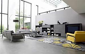 79 idees deco salon tres interessantes et modernes pour With charming meuble bas maison du monde 9 meuble salle de bain coloree