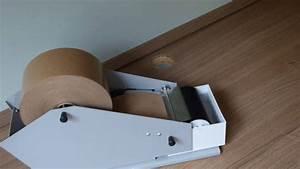 Gummed Tape Dispenser 30mm To 80mm Kraft Paper Packer