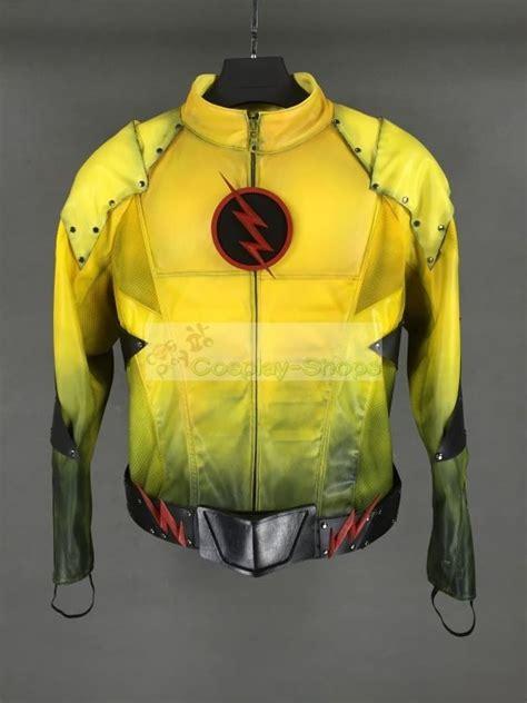custom cheap cw flash tv series  flash reverse flash full cosplay costume   flash