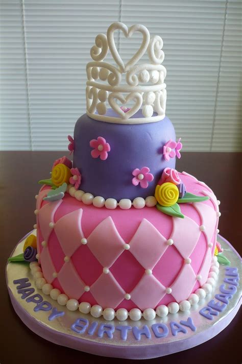 Griefing is the intentional destruction of others property. Princess Birthday Cake   Two-tier strawberry cake covered wi…   Flickr
