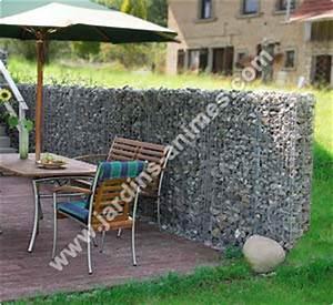 Kit A Gabion : mur gabion 210x110x20cm gabion mur et cage ~ Premium-room.com Idées de Décoration