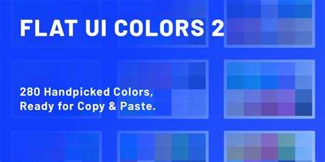 flat ui colors   handpicked colors ready  copy