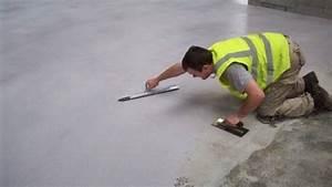 Posare un pavimento in resina Pavimentazioni