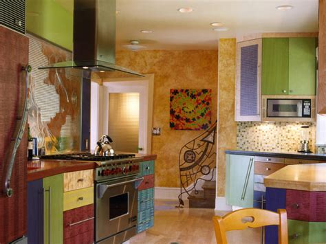 colorful kitchens ideas unique color combinations for the kitchen