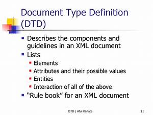 2 dtd validating xml documents for Documents type definition