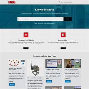 Sccs Knowledge Base    Sccs News