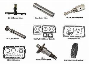 Ford 2000 Tractor Hydraulic Pump Parts