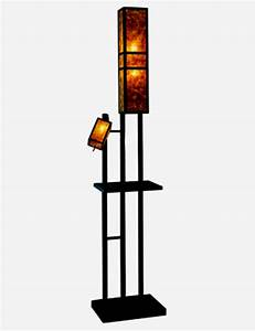 standing lamp with shelves 9 homeideasblogcom With floor lamp with shelves india