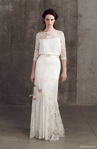 Sally lacock 2014 bridal separates collection wedding for Wedding dress separates top