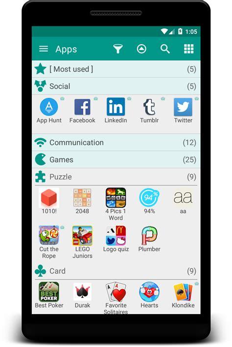 app drawer organizer free glextor appmanager organizer free android apps