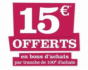 Promo Castorama 15 Par Tranche De 100 : castorama 15 offerts tous les 100 d 39 achats ~ Dailycaller-alerts.com Idées de Décoration