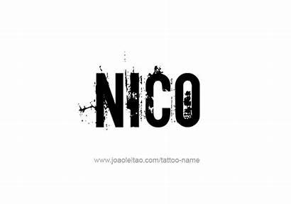 Nico Tattoo Designs