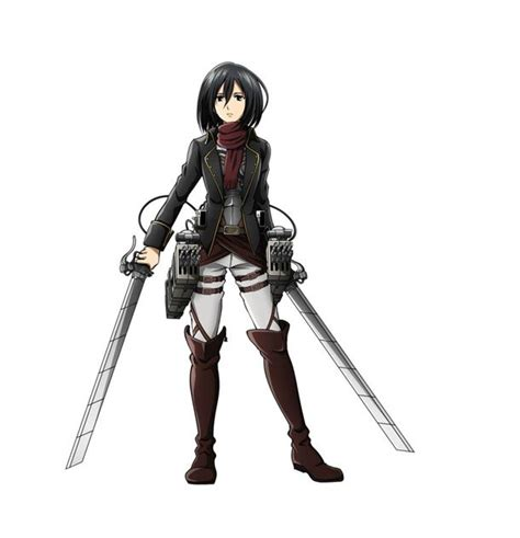 Crunchyroll Mikasa And Levi Outfited With New Uniforms