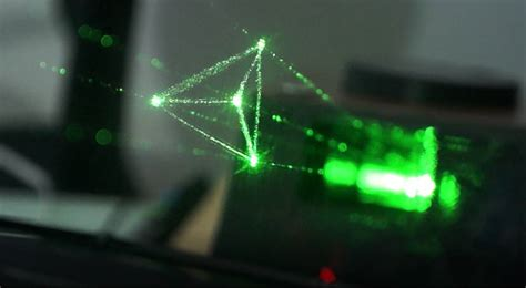 laser light display holovect diy laser based holographic display