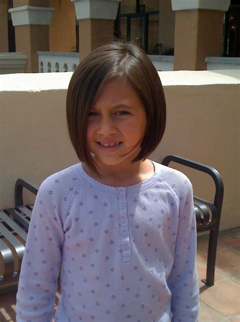 Short Hairstyles For 7 Year Olds   Hairstyles Ideas