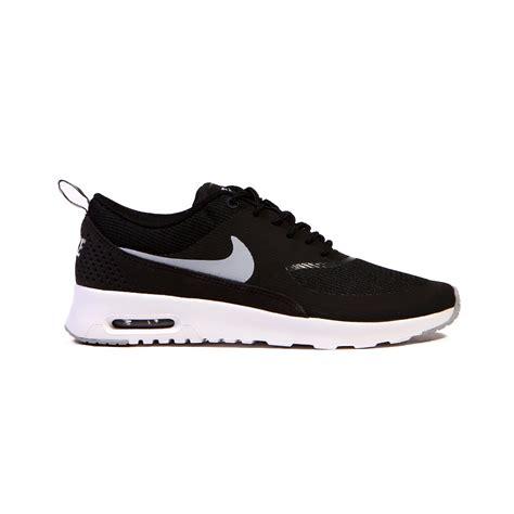 nike airmax by pray shoes nike air max thea black white grey 39 s shoes 599409