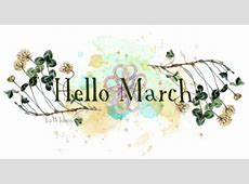 Hello March Lawhimsy