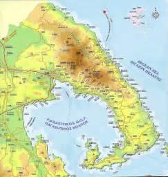 Pelion Greece Map
