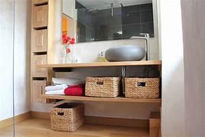 Fabriquer Meuble Bois : creer un meuble de salle de bain soi meme great beautiful incroyable comment fabriquer un ilot ~ Voncanada.com Idées de Décoration