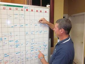 Charted Territory A Low Tech Way To Effectively Schedule