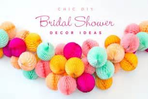 Bridal Shower Recipe Book by Diy Bridal Shower Decor Ideas Trendy Amp Chic Shower
