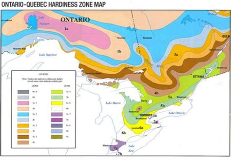 Hardiness Zones For Ontario Quebec You Can Click Your
