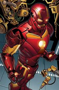 Iron Man Space Armor For Guardians Of The Galaxy Revealed