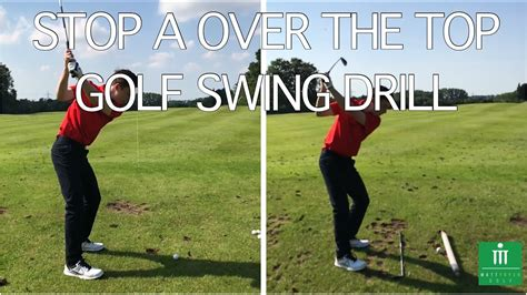 golf swing drills stop a the top golf swing drill