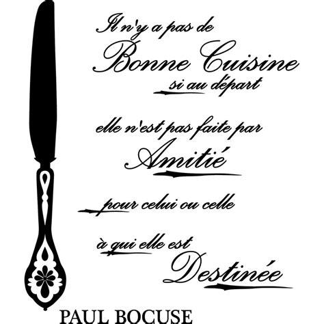 citation cuisine humour sticker citation bonne cuisine si au départ paul