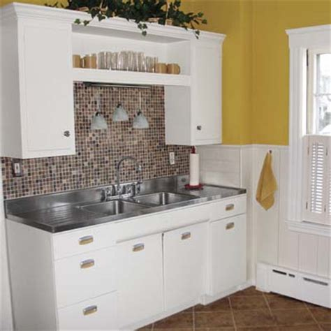 kitchen remodel keeping old cabinets saving by keeping retro charm the 645 kitchen remodel