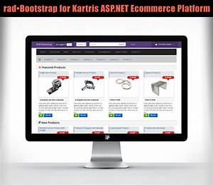 Radobootstrap for kartris replaces zurb with bootstrap3 on for Yahoo ecommerce templates