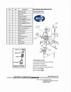 32 Raptor 660 Carb Diagram