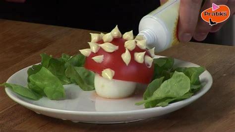 comment faire la cuisine cuisine comment faire une entrée rigolote pour les enfants pratiks