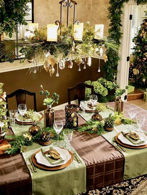 1204 Best Christmas Table Decorations Images On Pinterest