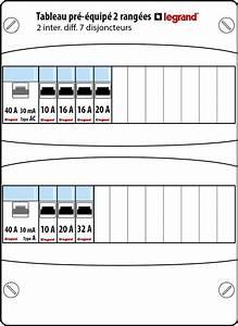 Tableau Electrique Schema : repartition disjoncteur tableau electrique croizy ~ Melissatoandfro.com Idées de Décoration