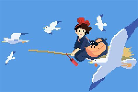 Kiki S Delivery Service Wallpaper 1080p Studio Ghibli Anime 8bit Pixel Art 7 Good Games 3
