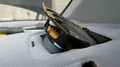 remove rear speaker  removing  panel