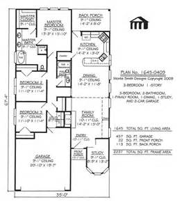 small lot house plans narrow lot apartments 3 bedroom 3 bedroom 2 bathroom 1 dining room 1 family room 1