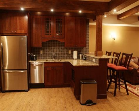 Basement Kitchen Bar by Basement Kitchen Bar Ideas Pictures Remodel And Decor