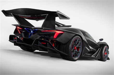 £2m Apollo Intensa Emozione Track Hypercar Revealed With