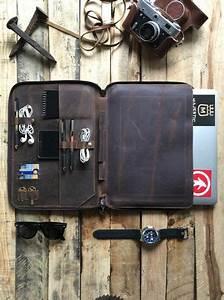 leather portfolio organizer for apple 13quot by savage With leather macbook 13 portfolio document organizer