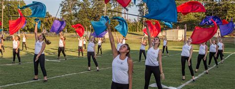 what is a color guard color guard f byrnes high school band