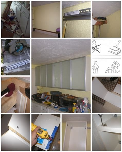 how to build kitchen cabinets step by step how to install ikea upper kitchen cabinets step by step