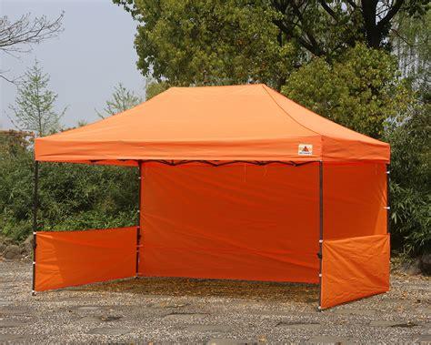 abccanopy  deluxe orange pop  canopy trade show  abccanopy