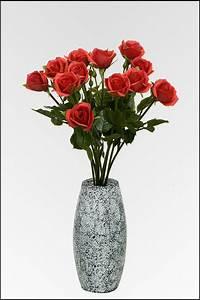 Rosen Kaufen Günstig : blumenstrau rosen ca 60 cm rot aus kunststoff g nstig kaufen bei ~ Markanthonyermac.com Haus und Dekorationen