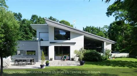 vente maison d architecte dinan centre ville