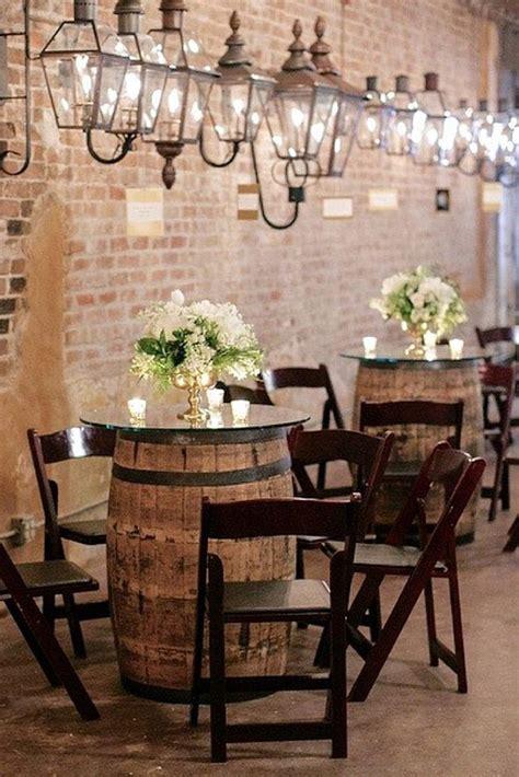 ways   wine barrels   wedding decor rustic